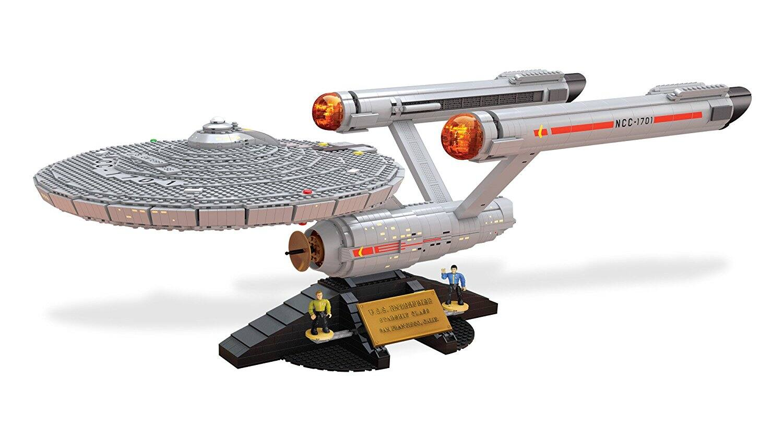 Mega Bloks Star Trek U.S.S. Enterprise NCC-1701 Collector Construction Set  AMAZON $77.50