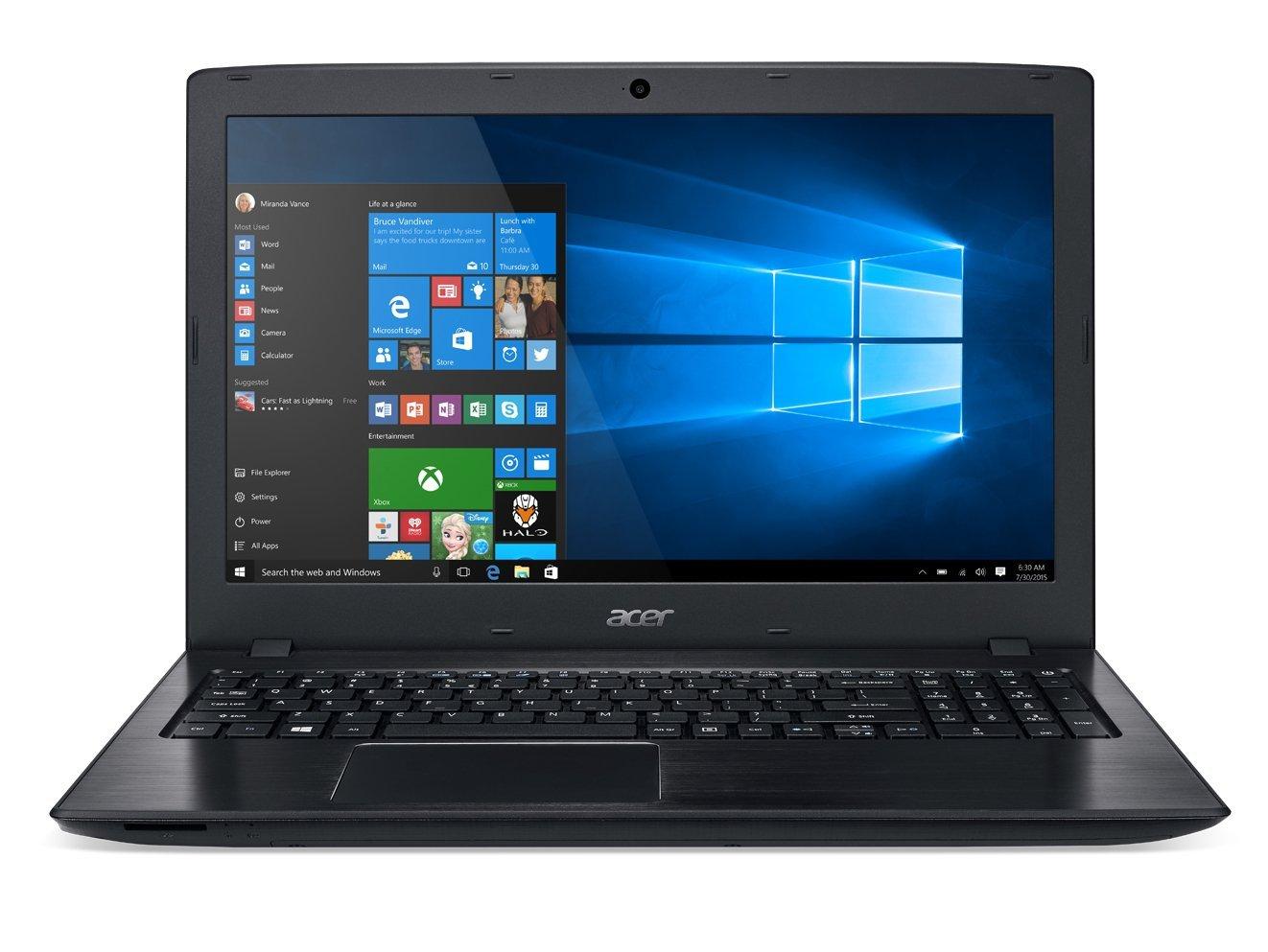 Acer Aspire E 15 E5-575-33BM 15.6-Inch FHD Notebook (Intel Core i3-7100U 7th Generation , 4GB DDR4, 1TB 5400RPM HD, HD Graphics 620, Win 10 $314.99