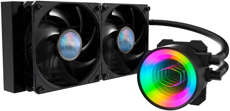 Cooler Master MasterLiquid ML240 Mirror AIO 240 Radiator CPU Liquid Cooler $89.99