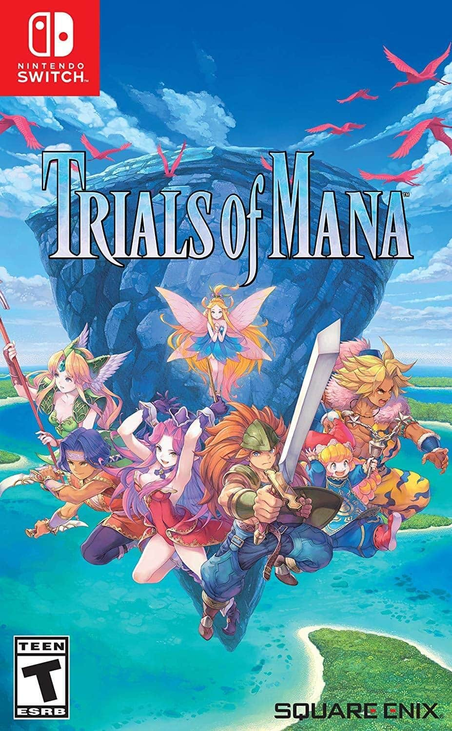 Trials of Mana (Switch) $35.51 + Free Prime Shipping