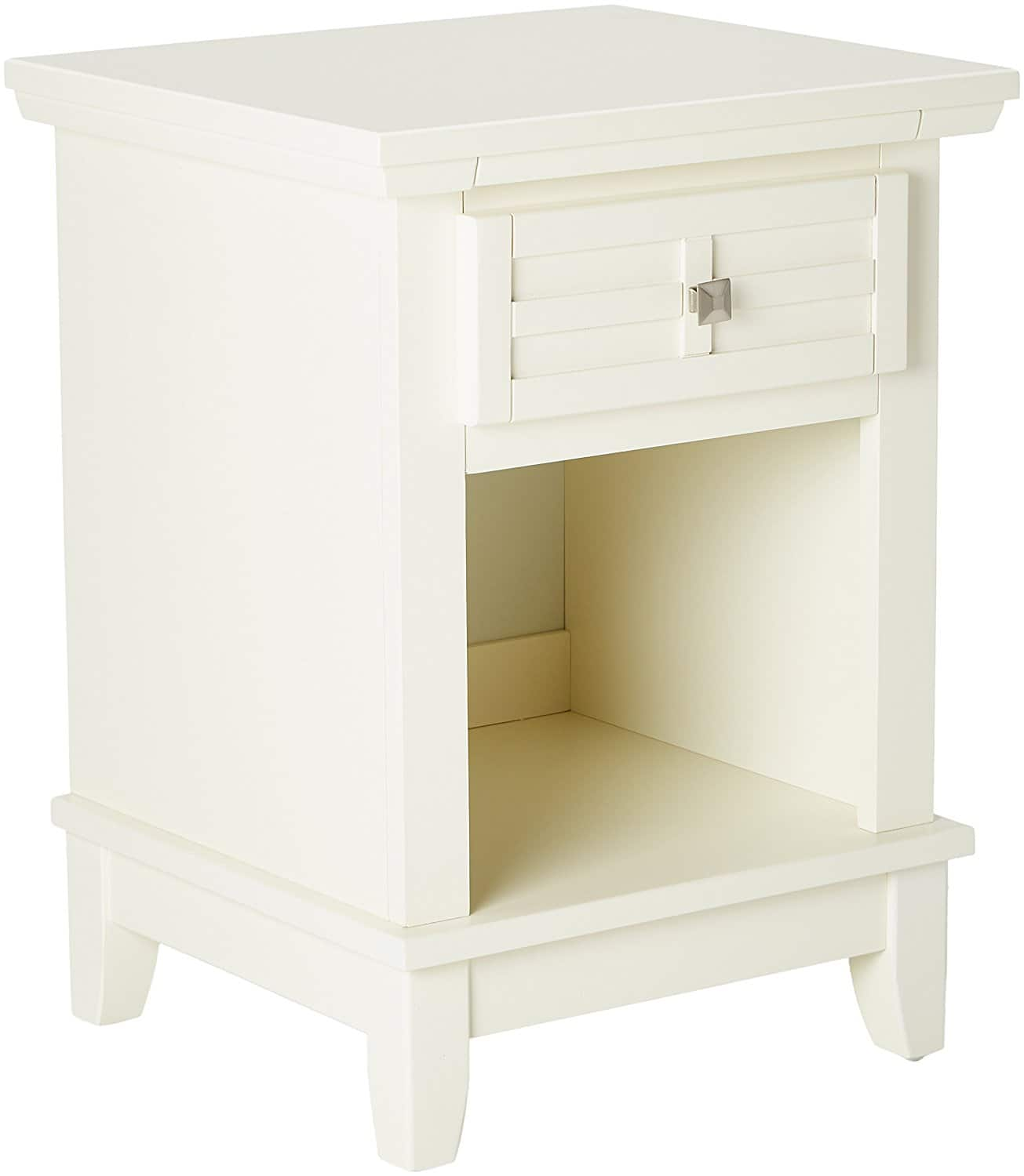 Home Styles 18in Night Stand (white/cream) $37 + free shipping $36.83