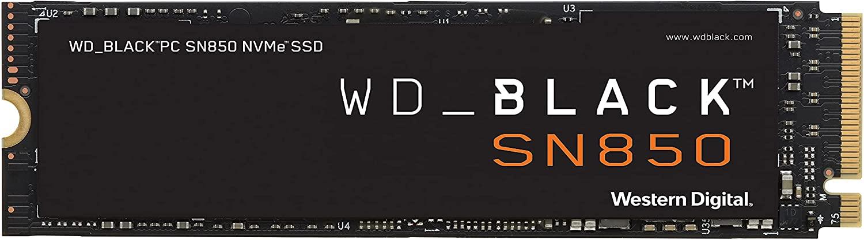 Western Digital WD BLACK SN850 NVMe M.2 1TB SSD - Amazon - $171.99