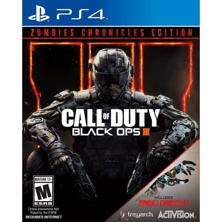 Call of Duty: Black Ops 3 with Zombie Chronicles for PS4 or XBOX $12.99
