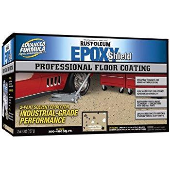 Lowest now $56 - Amazon - Rust-Oleum 238466 Professional Floor Coating Kit,  Tan   FS