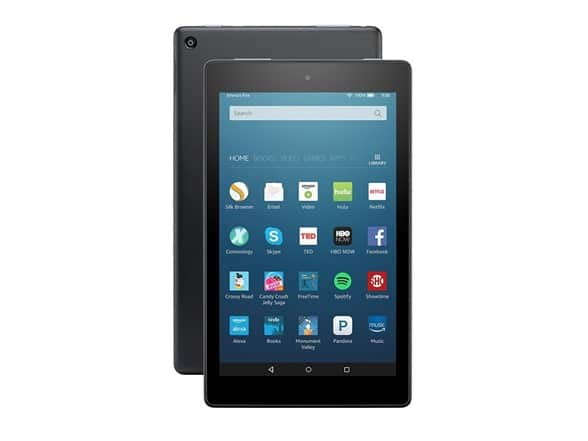 "Amazon Fire HD 8"" (2016 model) 16GB Tablet - Refurbished - $29.99 + $5 shipping $34.98"