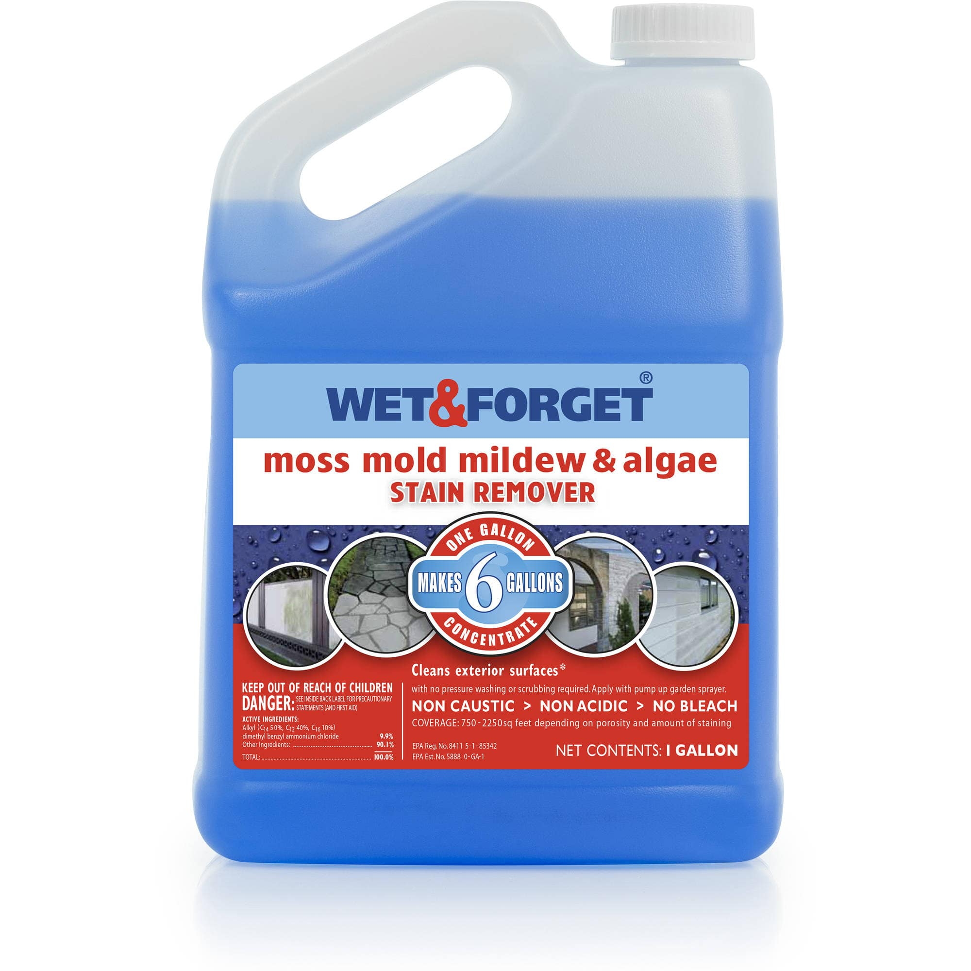 Wet And Forget 1 Gallon Concentrate - Walmart.com - Save $7.45 $27.54
