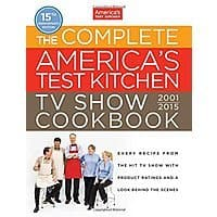 Amazon Deal: The Complete America's Test Kitchen TV Show Cookbook 2001-2015 Hardcover $19.95 plus shipping