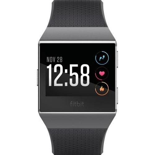 Fitbit - Ionic Smartwatch - Charcoal/smoke gray  $269.95 @Bestbuy