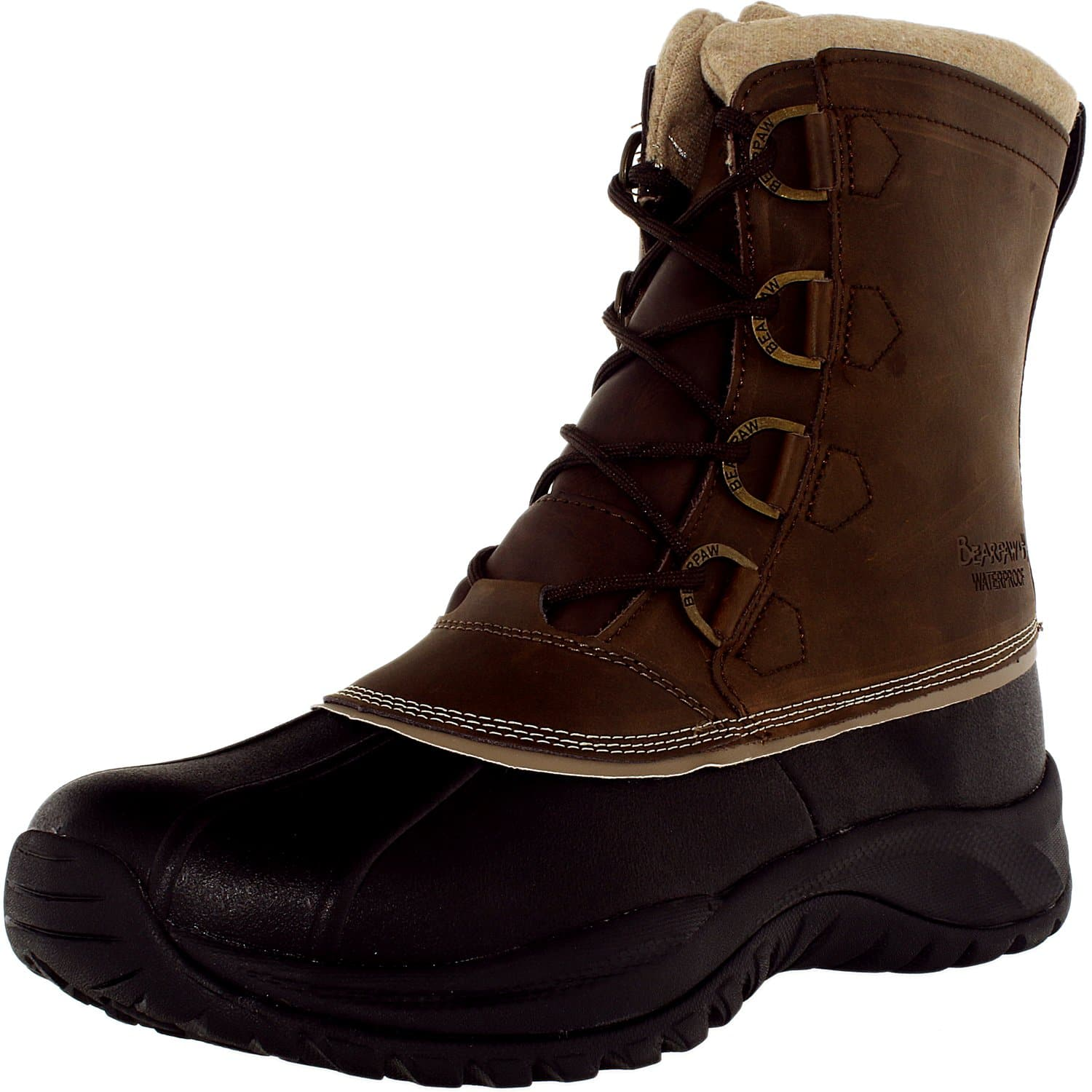 Bearpaw Men's Colton Mid-Calf Leather Boot $ 59.99 on Ebay $59.99