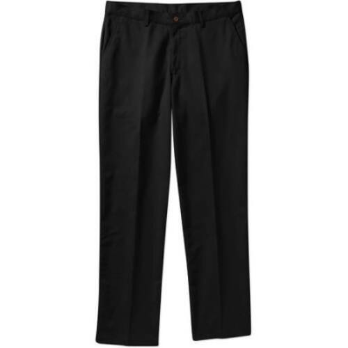 George Men's Wrinkle Resistant Flat Front 100% Cotton Twill Pant $ 14.88 on Walmart $14.88