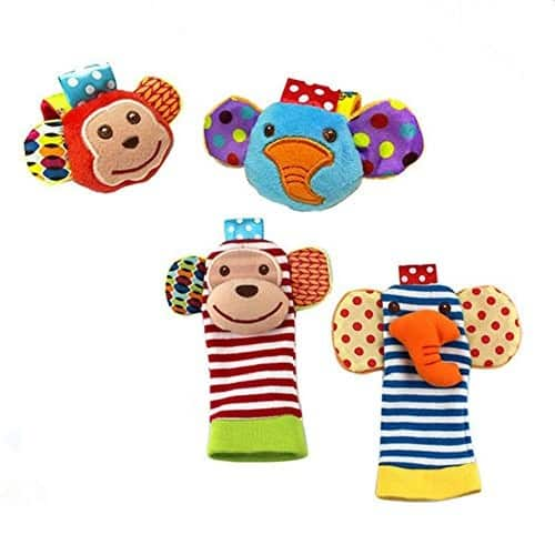 ThinkMax Baby Rattle $8.09 @Amazon
