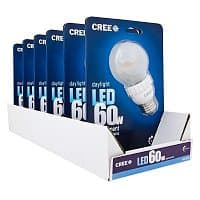 Home Depot Deal: Cree 9-Watt (60W) A19 Daylight (5000K) LED Light Bulb one for $14 or (6-Pack for $80)