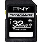 PNY Performance 32GB SD (SDHC) Class 4 Flash Memory Card. Clearance at Staples. 50 cents. IN STORE ONLY. EXTREMELY YMMV