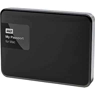 WD My Passport for MAC 1TB Portable External Hard Drive. Clearance at Staples for $13.50 In store only YMMV