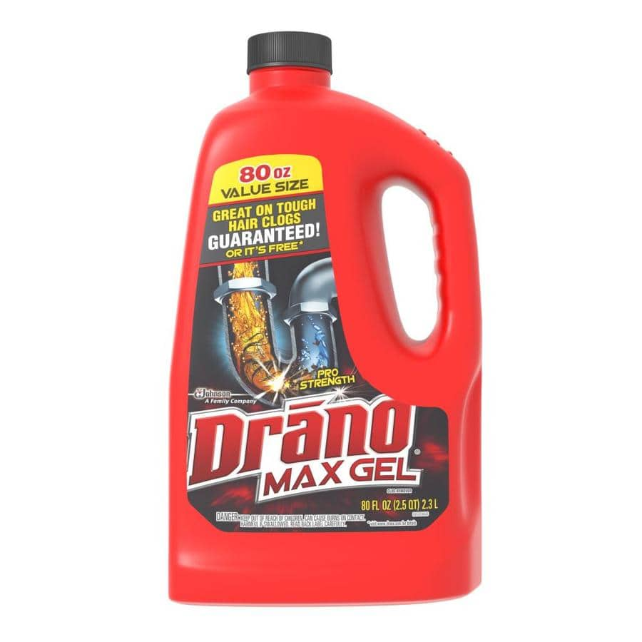YMMV Lowes Clearance * Drano Max Gel 80 Ouncer of Drain Cleaner * $0.72 normally $7.99