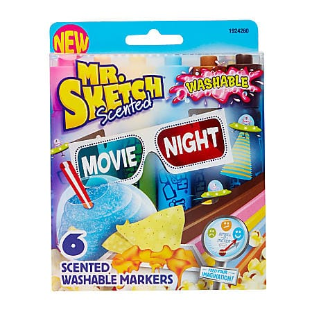 OFFICE DEPOT MAX CLEARANCE YMMV ** Mr. Sketch Crayon and Scented Markers for 70% to 90% off (In-Store Only) $1