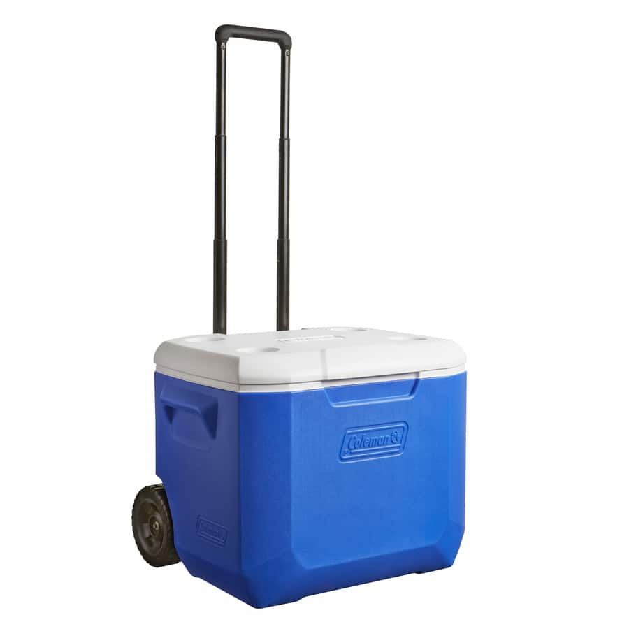 LOWES YMMV CLEARANCE ** Coleman 60-Quart Wheeled Plastic Chest Cooler $15.99