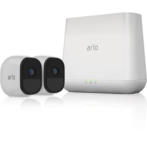 Arlo - Pro Indoor/Outdoor HD Wire-Free Security Camera System (2-Pack)  $ 369.99@Bestbuy $369.99