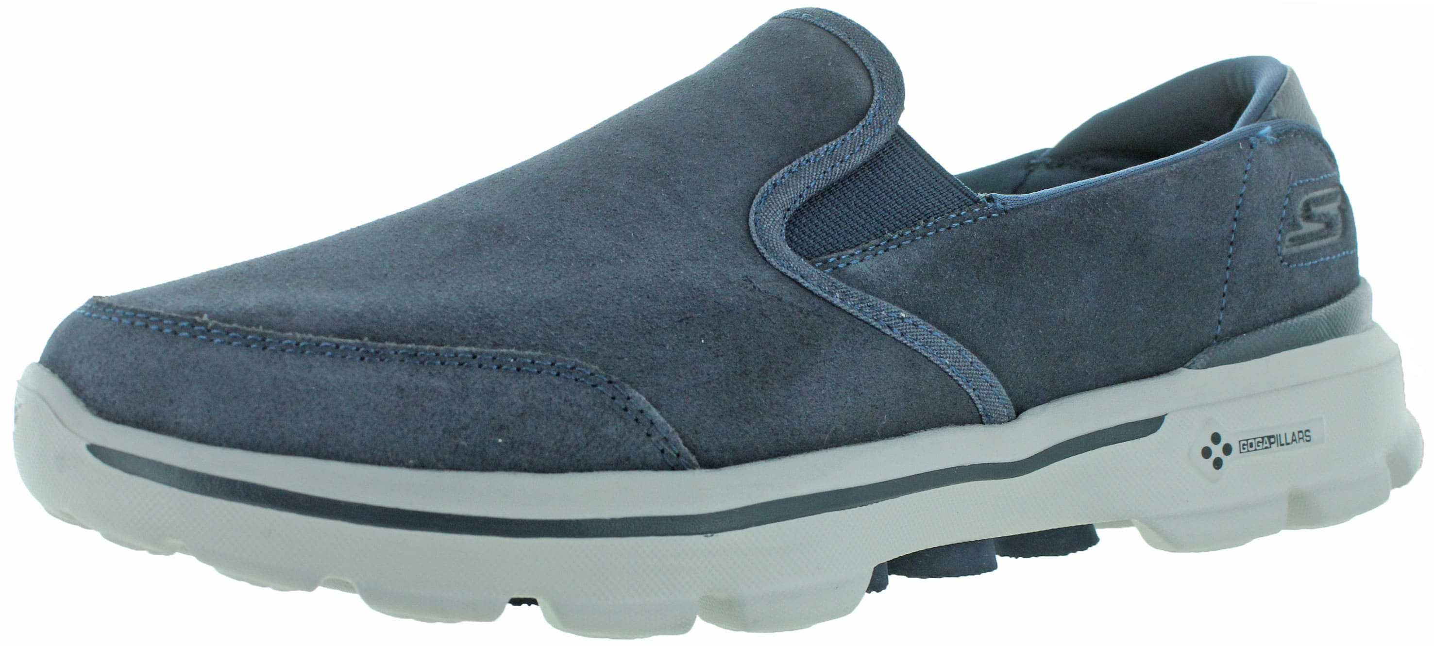 Skechers Go Walk 3 Men's Leather Slip-On Casuals Shoes $ 29.99 on ebay $29.99