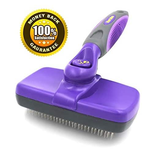 Hertzko Self Cleaning Slicker Brush $ 12.35 @Amazon $12.35