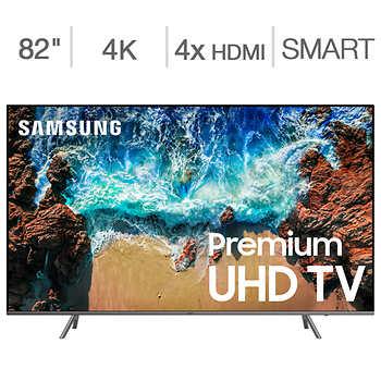 "Samsung 82"" Class (81.5"" Diag.) 4K UHD LED LCD TV - Costco $1999.99"