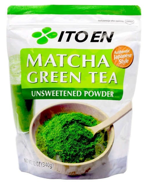 Ito En Matcha Green Tea Unsweetened Powder 12 oz $24.99 After $10 OFF @Costco - valid through 9/4/19