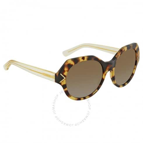 TORY BURCH Brown Gradient Polarized Sunglasses for $59.99