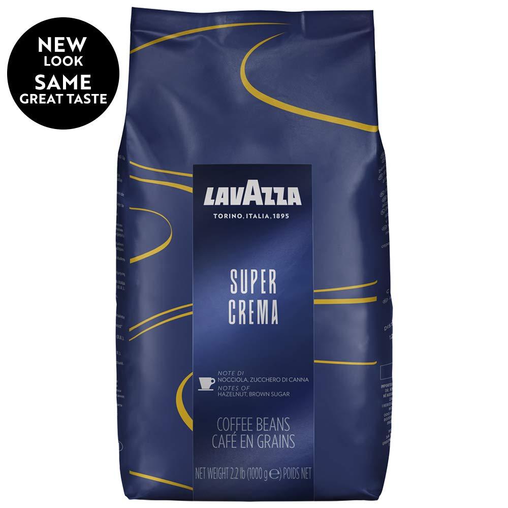 Lavazza Super Crema Whole Bean Coffee 2.2-Pound Bags (Case of 6) $80 or $70
