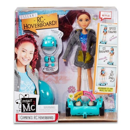 Project Mc2 Camryn' s Remote Control Hoverboard with Doll $ 35.99 on toysrus.com $35.99