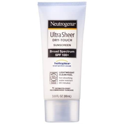 Neutrogena Ultra Sheer Lotion - SPF 100 - 3oz $ 9.09 on www.target.com $9.09