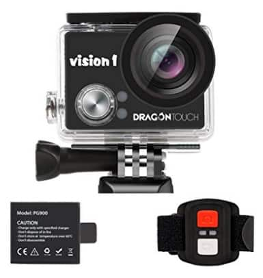 Dragon Touch Vision 1 Action Cam for Kids 1080p $29.99