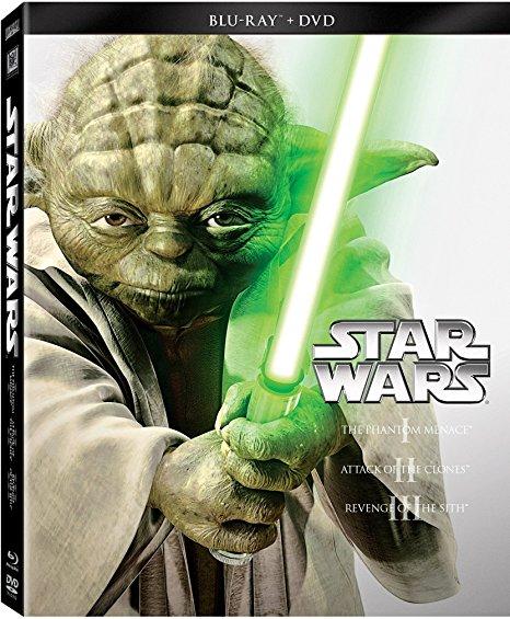 Star Wars Trilogy: Episodes I-III  [Blu-ray/DVD] - $24.99