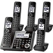 Amazon Deal: [Staples] Panasonic Link2Cell Bluetooth Enabled Phone KX-TG5855S $69.99 (Reg. $129) FS!