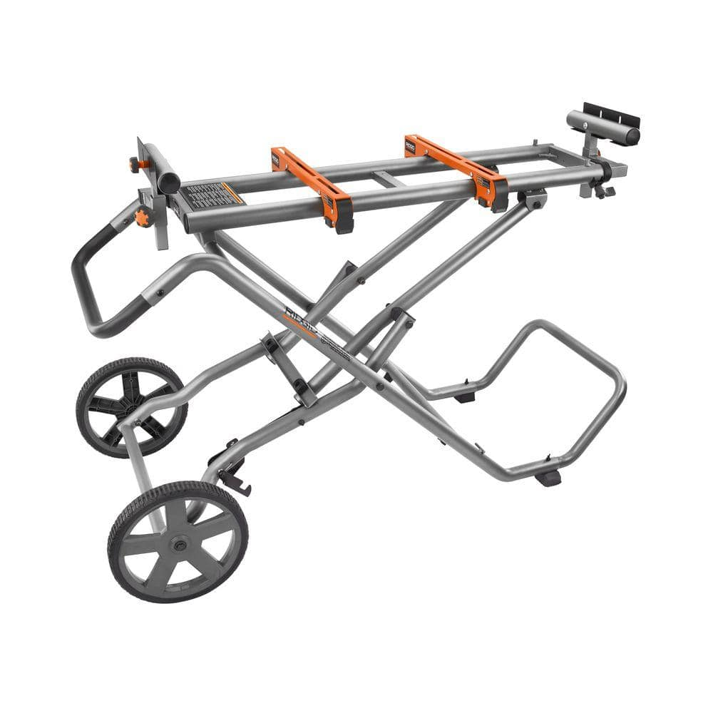 [Home Depot] Ridgid Mobile Miter Saw Stand with Mounting Braces (New Model AC9946) $99. Ships Free