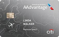 Citi AAdvantage Platinum Select World Elite Mastercard 60,000 Miles after $3000