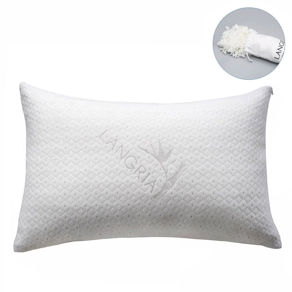 [Amazon] Luxury Bamboo Shredded Memory Foam Pillow (Queen) for $23.79 AC