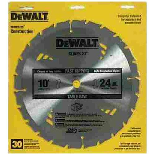 [AceHardware] Dewalt Carbide Tipped Saw Blade (Dw3112) $9.99 (reg. $19.99). Free Store Pick Up