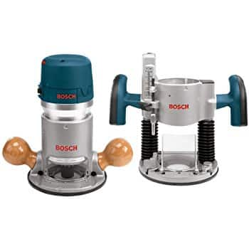 Bosch 2.25-HP Variable Speed Combo Fixed/Plunge Corded Router (Model# 1617EVSPK) $168.21 AC + S&H. Available @worldwideweb!