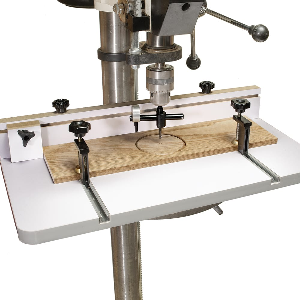 MLCS Drill Press Table with FREE T-Track Hold-Downs $59.95 (Reg. $135) Ships Free!