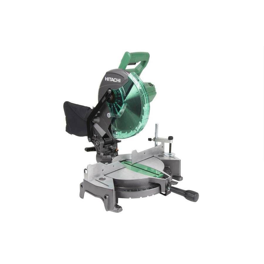 [Lowes] Hitachi 10-in 15-Amp Single Bevel Compound Miter Saw $74 AC (Reg. $139) Ships Free or Free Store Pick Up!