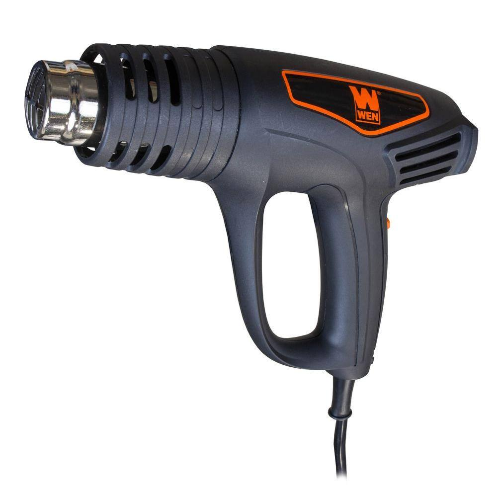 WEN Dual-Temperature 1500-Watt Heat Gun Kit $18.99. Ships Free