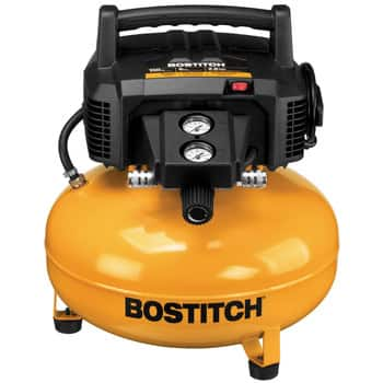 Bostitch: 6-Gall 150 PSI Oil Free Air Compressor $79.00. Model: BTFP02012. Ships Free!