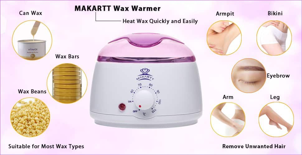 [Amazon] Wax Warmer Melter Electric Hair Removal $9.95 (50% off!) Ships Prime!