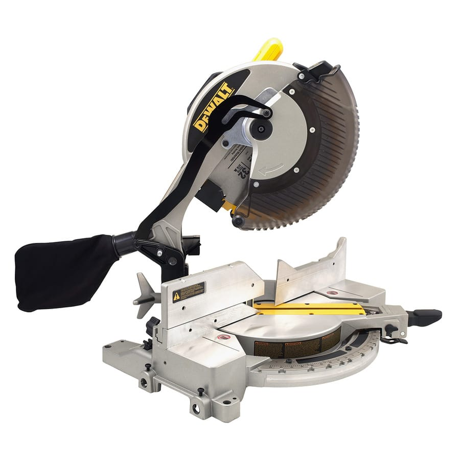 [Lowes] DEWALT 12-in 15-Amp Single Bevel Compound Miter Saw $179 (reg. $279) or $159 AC