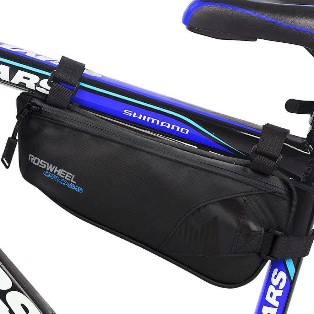 Bicycle Frame Bag Nylon Water Resistant Triangle Bag Bike Storage Bag $10.79 (reg. $23.99)