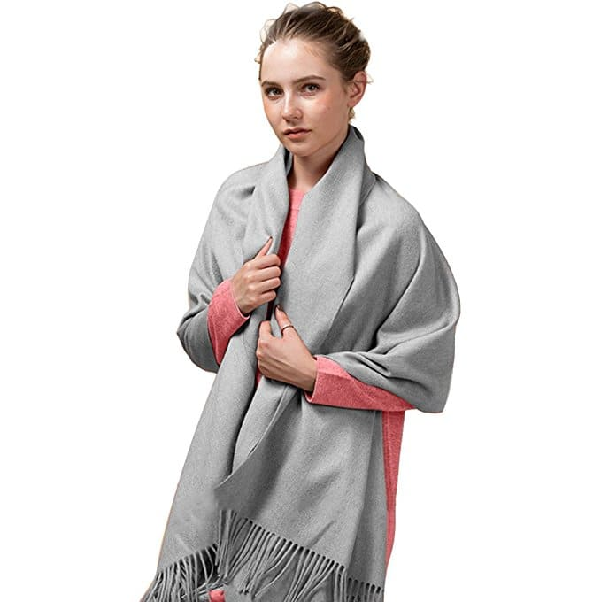 "Large 79""x28"" Women Soft Cashmere Shawls Wool Wraps Fashion Stole Scarf $6.49 (reg. $12.99)"