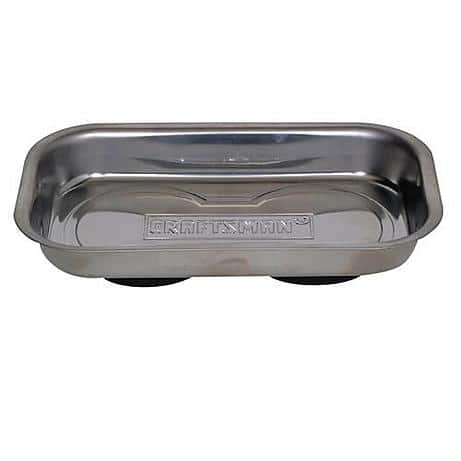 Craftsman Magnetic Tray, Stainless Steel $6.99 (reg. $15.99)