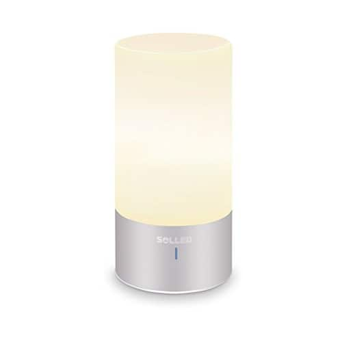 SOLLED LED Table Lamp, Sensor Touch Bedside Lamp $ 19.99 prime shipping $19.99