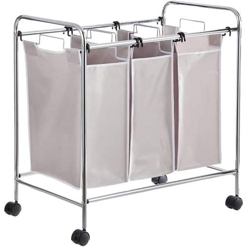 AmazonBasics 3-Bag Laundry Sorter $ 29.36 @Amazon $29.36