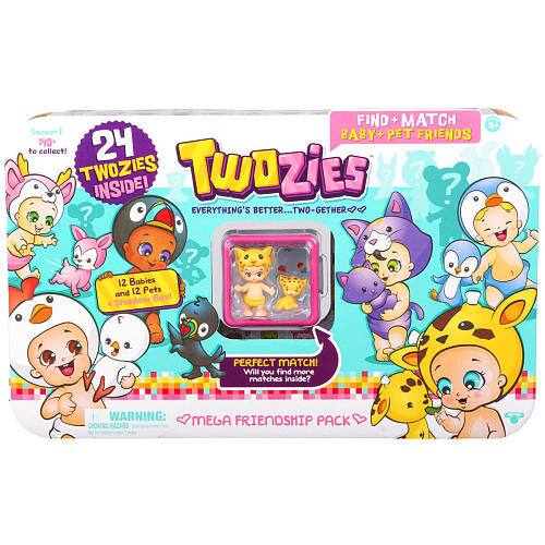 Twozies Baby and Pet Friends Season 1 Mega Friendship 24 Pack   $ 11.98 on toysrus. $11.98